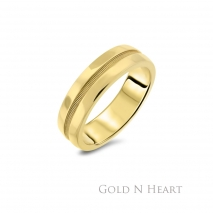 Yellow Gold Men's Band