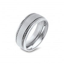 Men's Band with Double Rope Design