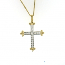 Two Tone Custom Cross