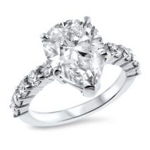 4.03ct. Pear Shape & Platinum