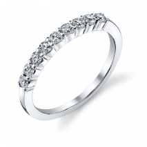Nine Stone Round DIamond Band